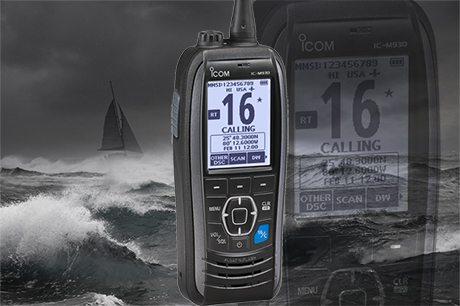 ICOM-M93D Euro – król radiotelefonów ręcznych