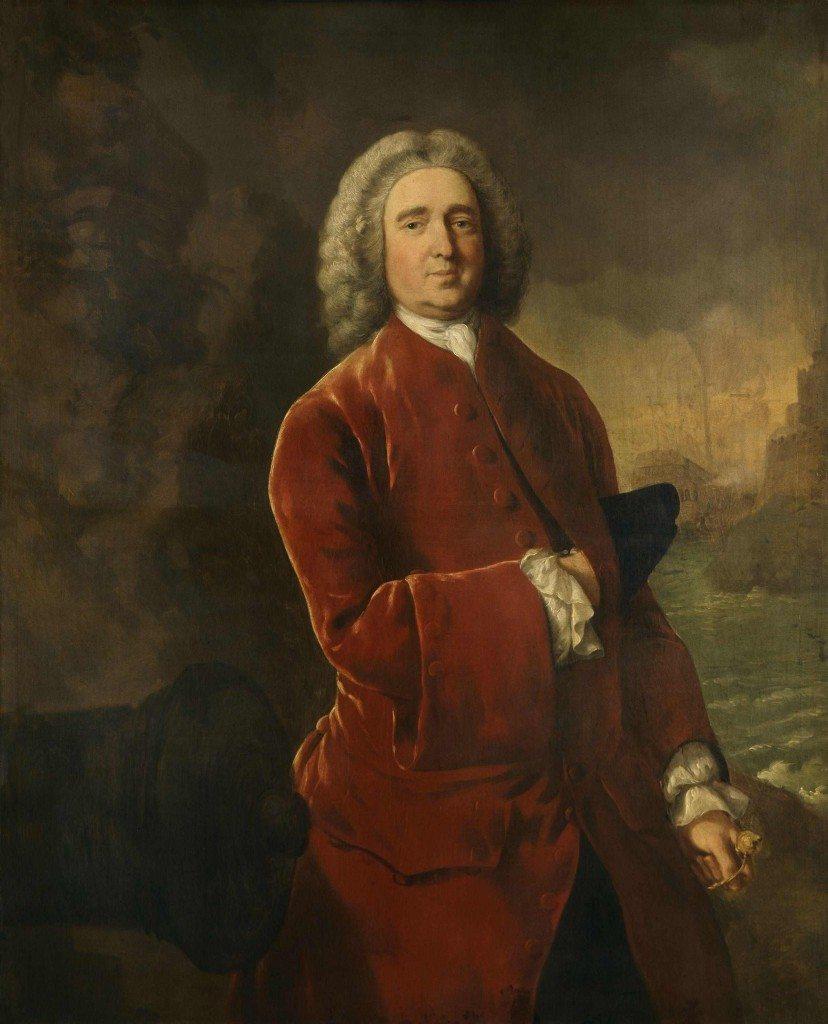 Admirał Edward Vernon czyli Old Grogram