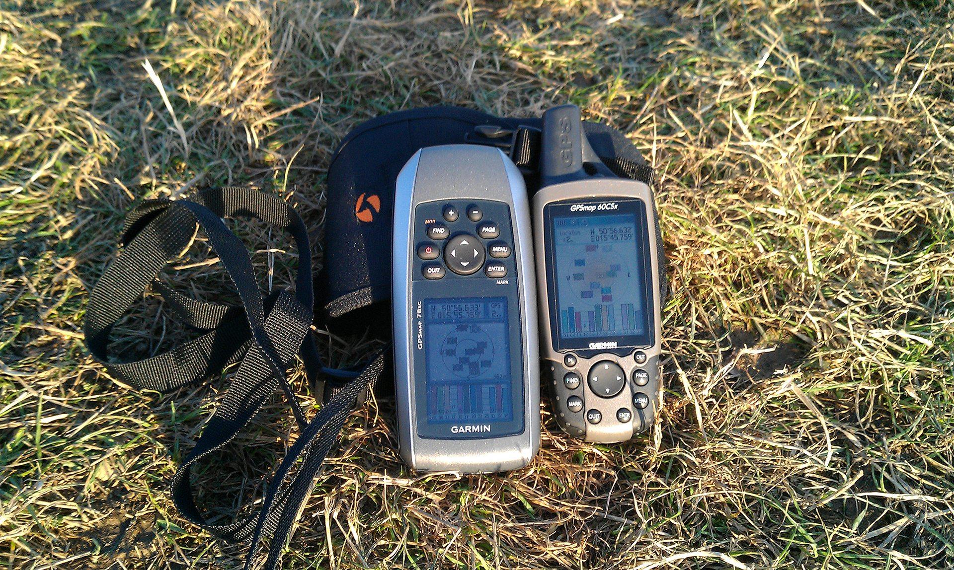 Garmin GPSMAP 78SC i GPSMAP 60 CSx