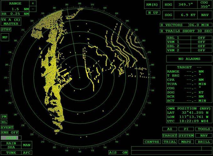RYA Marine Radar kurs obsługi radaru jachtowego