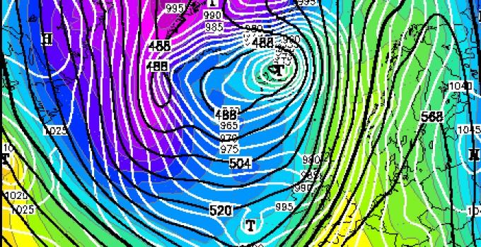 Dlaczego zimowy sztorm Frank jest wyjątkowy?