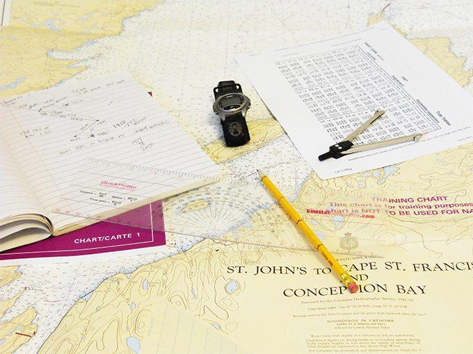 Warsztaty nawigacyjne nawigacja terestryczna i zliczeniowa