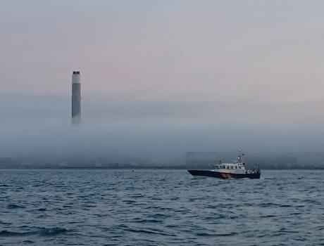 Chmurne oblicze kapitana #13: Sam na sam z mgłą