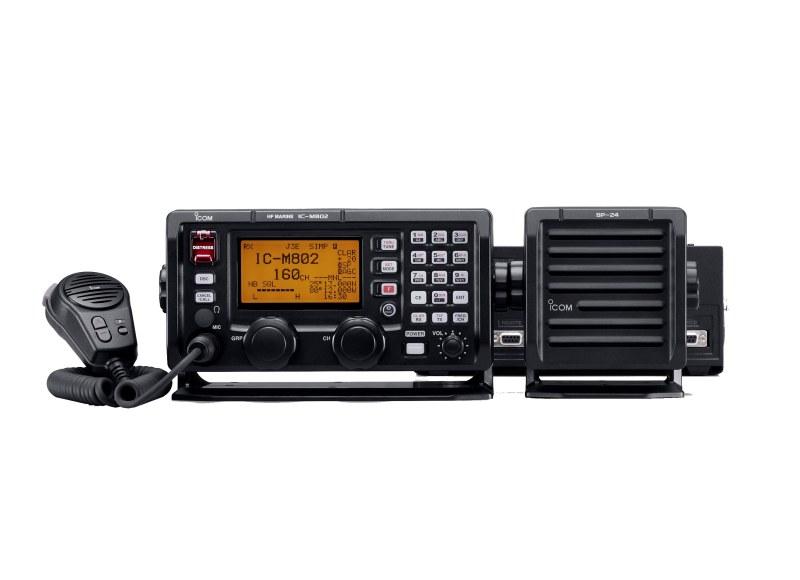 Icom IC-M802 między innymi na takim sprzęcie będziecie mogli pracować po kursie i uzyskaniu świadectwa Operatora Urządzeń Radiowych Dalekiego Zasięgu LRC Long Range Communications