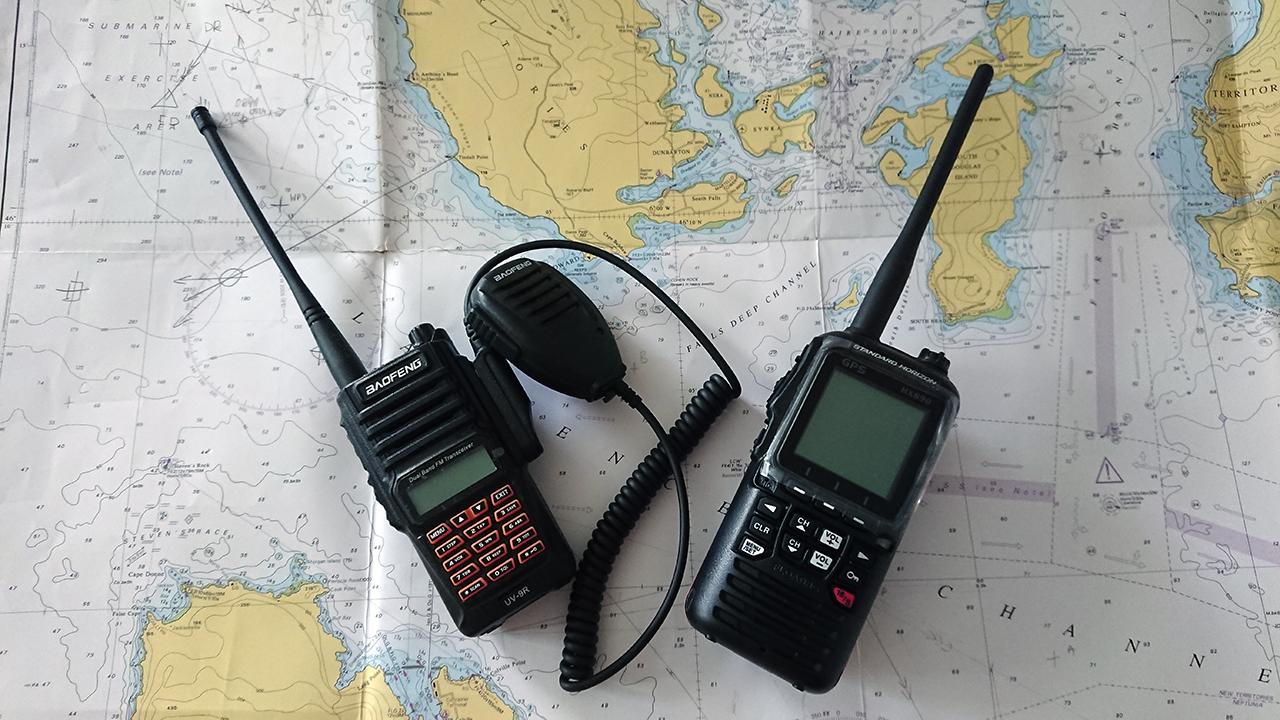 Czy tanie chińskie radio zastąpi morską UKF-kę?